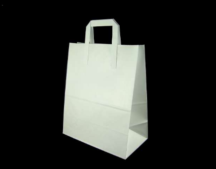 White Paper Bag Png White Paper Bag With Handles