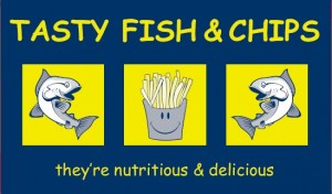 Tasty Fish & Chip Box