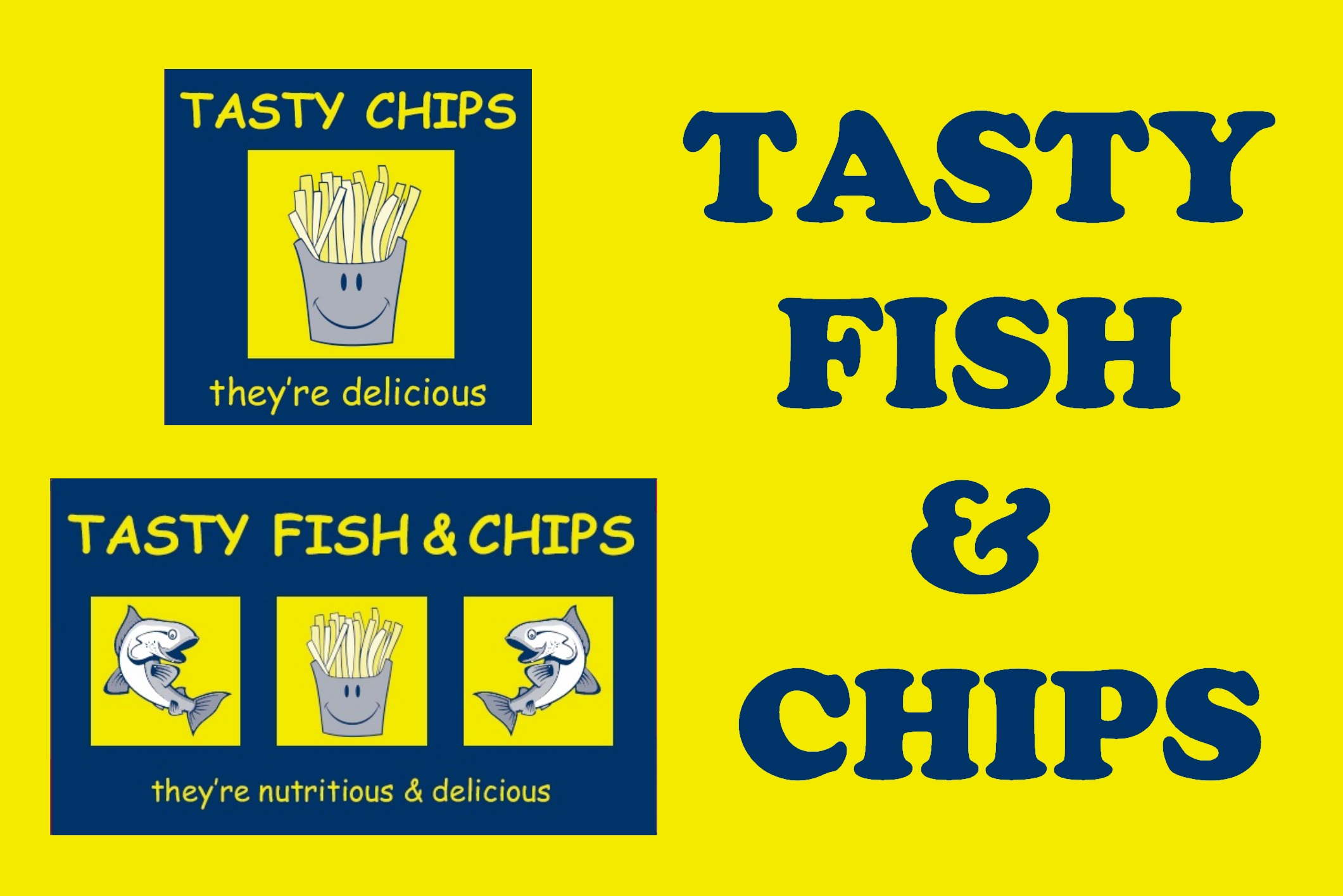 Tasty Fish & Chip Boxes
